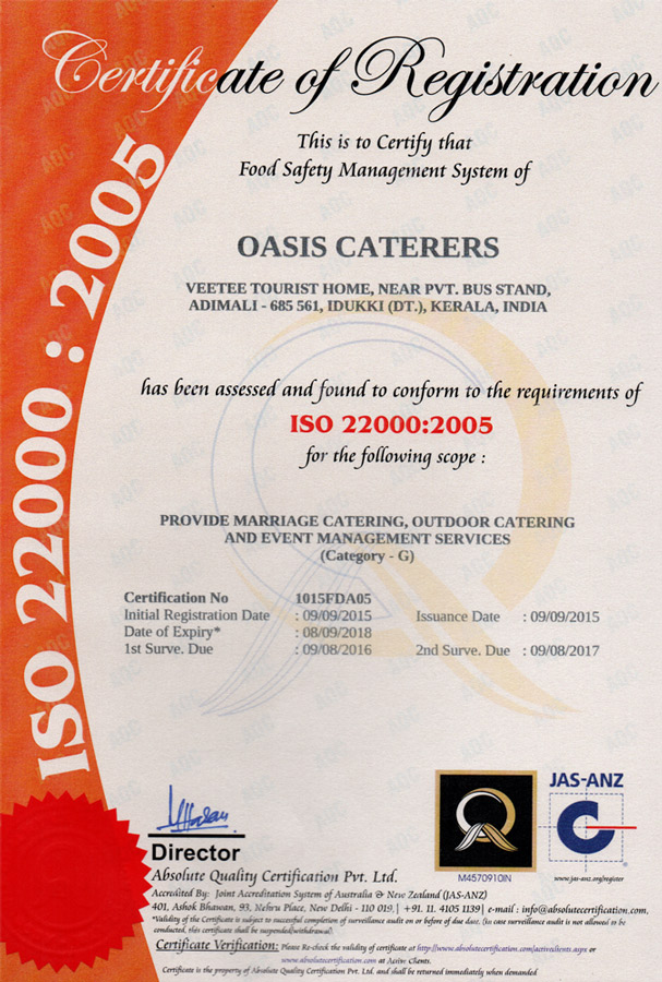 Oasis Caterers